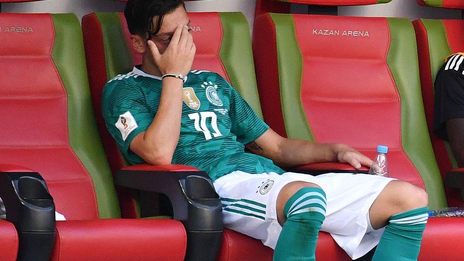 Mesut Özil bei der WM in Russland (Archiv)