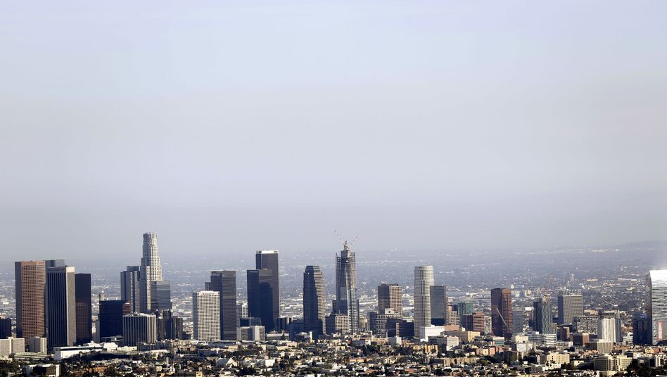 Skyline von Downtown Los Angeles
