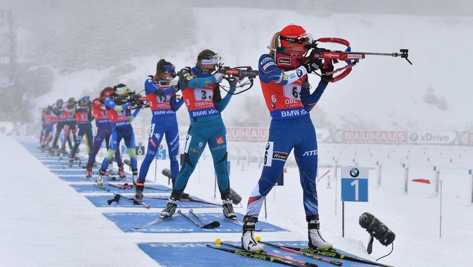 Ski-Arena in Oberhof (Thüringen): Bereit für die Ringe?