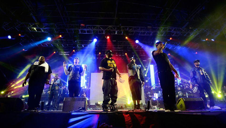 """Rap-Kollektiv Wu-Tang Clan: """"Total floppen"""""""