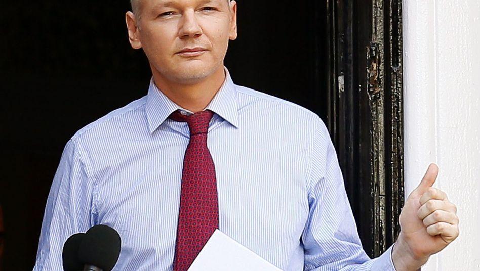 """Assange in Ecuadors Botschaft: """"Niemals eine Person ausliefern, der die Todesstrafe droht"""""""