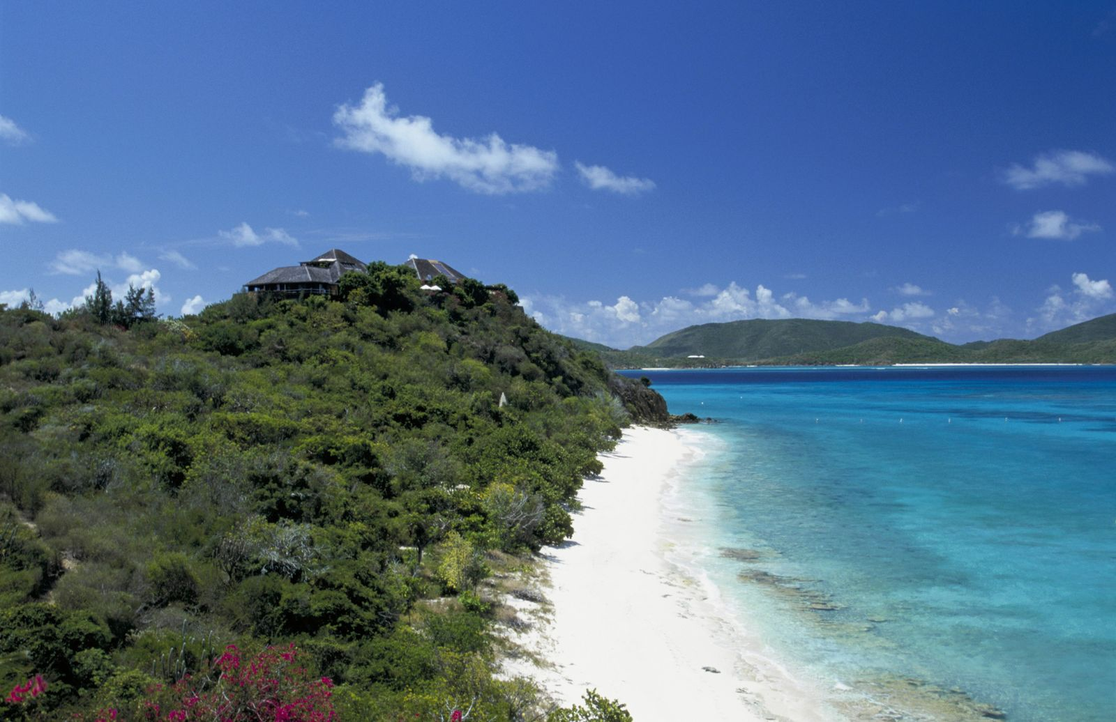 Necker Island. Turtle Beach