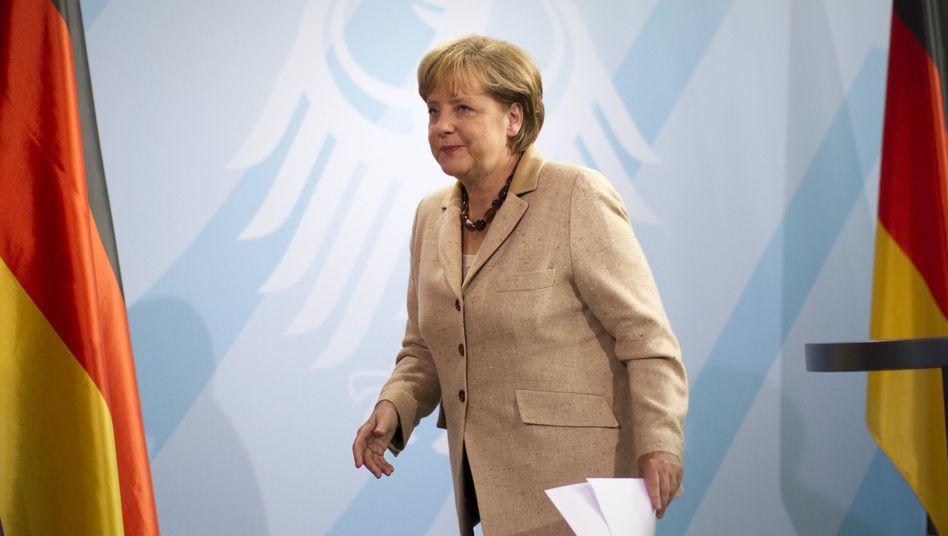 """Kanzlerin Merkel: Nur """"der eine Satz"""" zitiert?"""