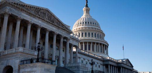 US-Kapitol, Washington: Repräsentantenhaus sagt Sitzung wegen Sicherheitsbedenken ab