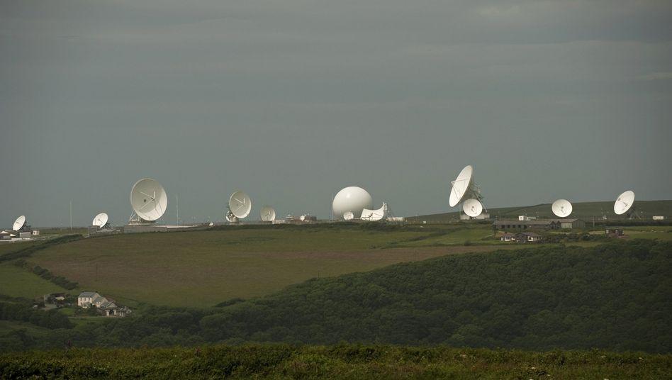 """Satellitenanlagen des britischen Geheimdienstes: """"Grundsätzlich nicht öffentlich"""""""