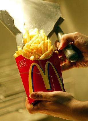 McDonald's-Pommes: Mit Milch- und Weizenbestandteilen