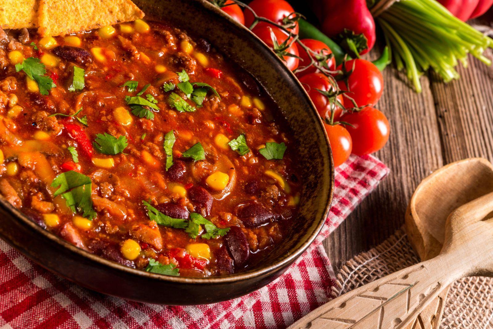 chili con carne PUBLICATIONxINxGERxSUIxAUTxONLY Copyright xDar1930x Panthermedia14021609