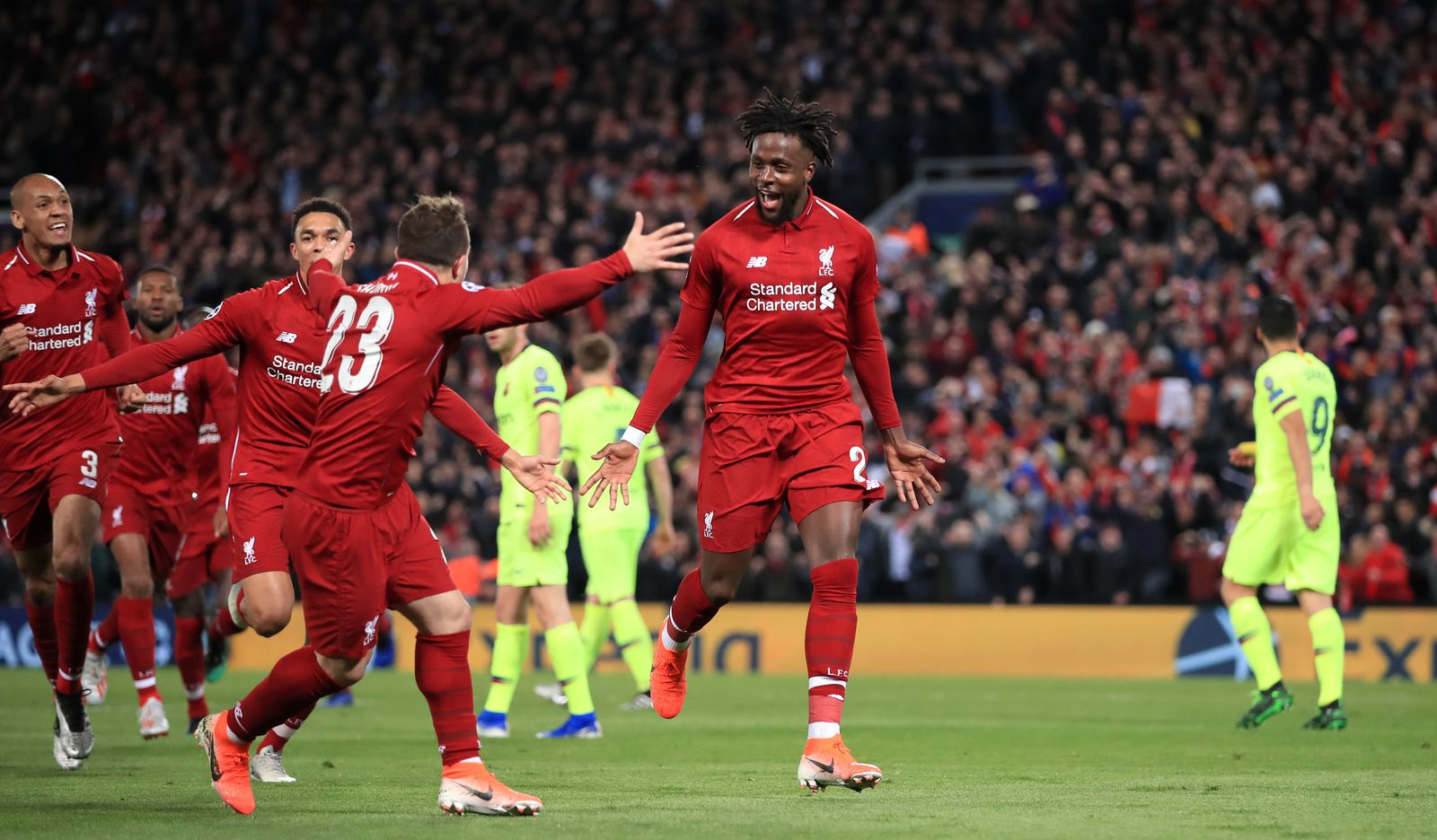 Liverpool v Barcelona - UEFA Champions League - Semi Final - Seco