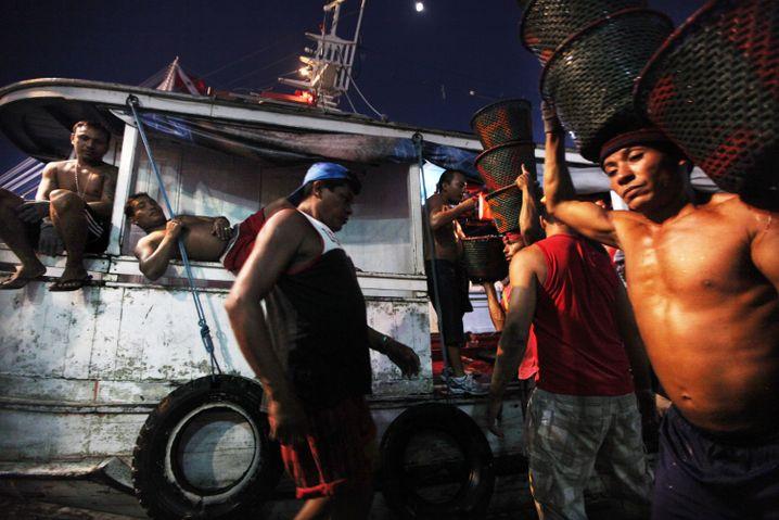 Arbeiter in Brasilien: Nach dem Boom kam der Stillstand
