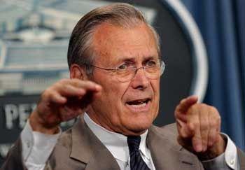 US-Minister Rumsfeld: Polemik umgedeutet