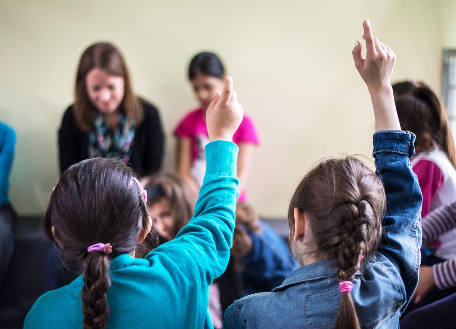 Flüchtlingskinder Schule