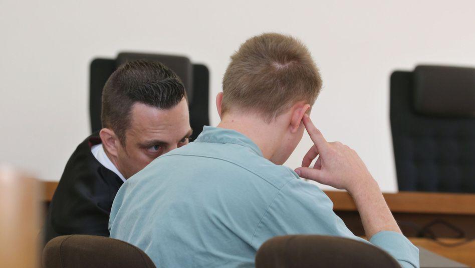 Der Angeklagte wurde wegen Mordes an seinem Sohn verurteilt