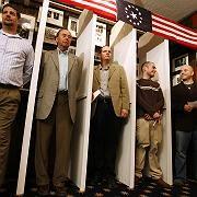 Wähler in Dixville Notch: 15 zu 6 für Barack Obama
