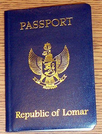 Republic of Lomar: Pässe für Staatenlose