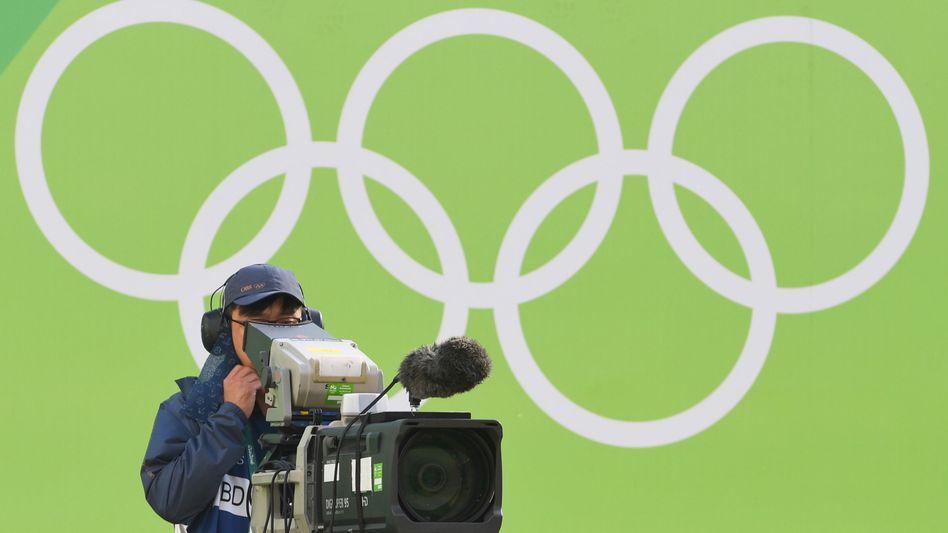 Kameramann bei den Olympischen Spielen in Rio