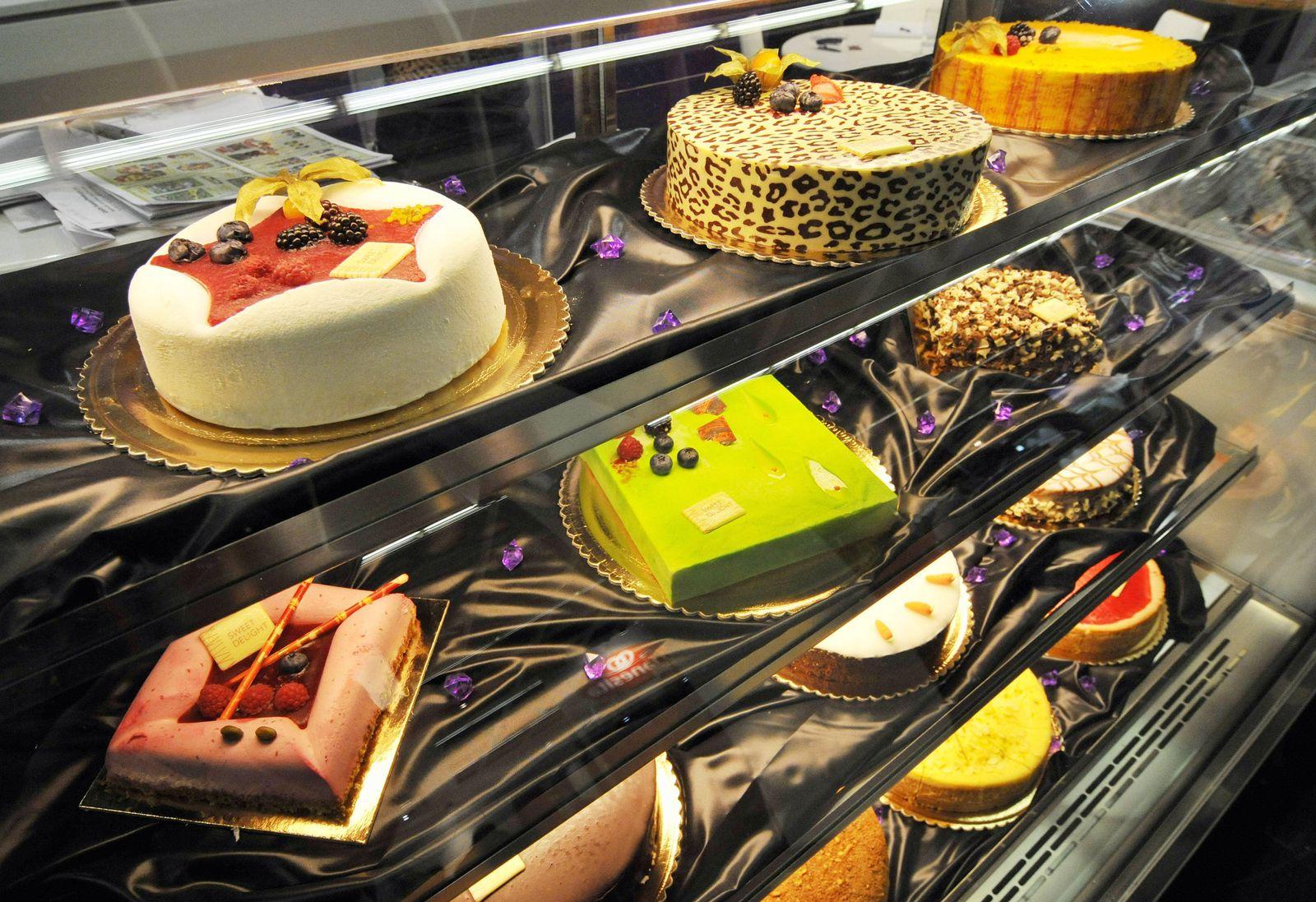 NICHT VERWENDEN Lebensmittelmesse Anuga / Torten