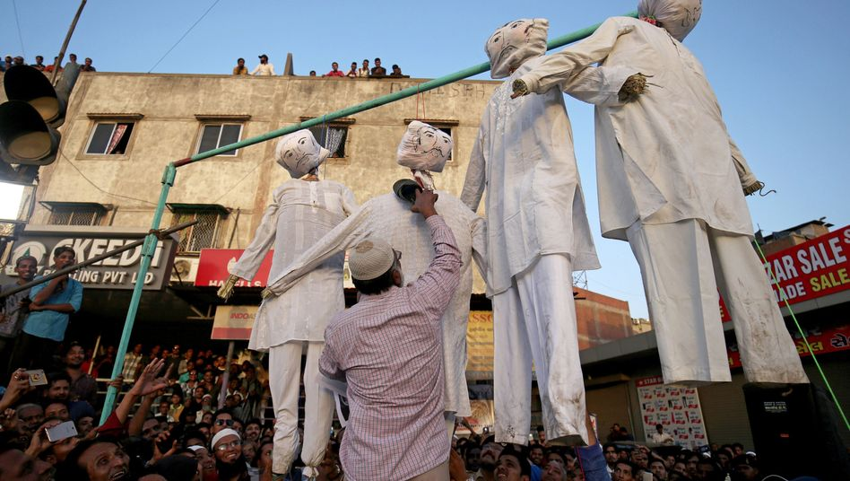 Indien Hinrichtung