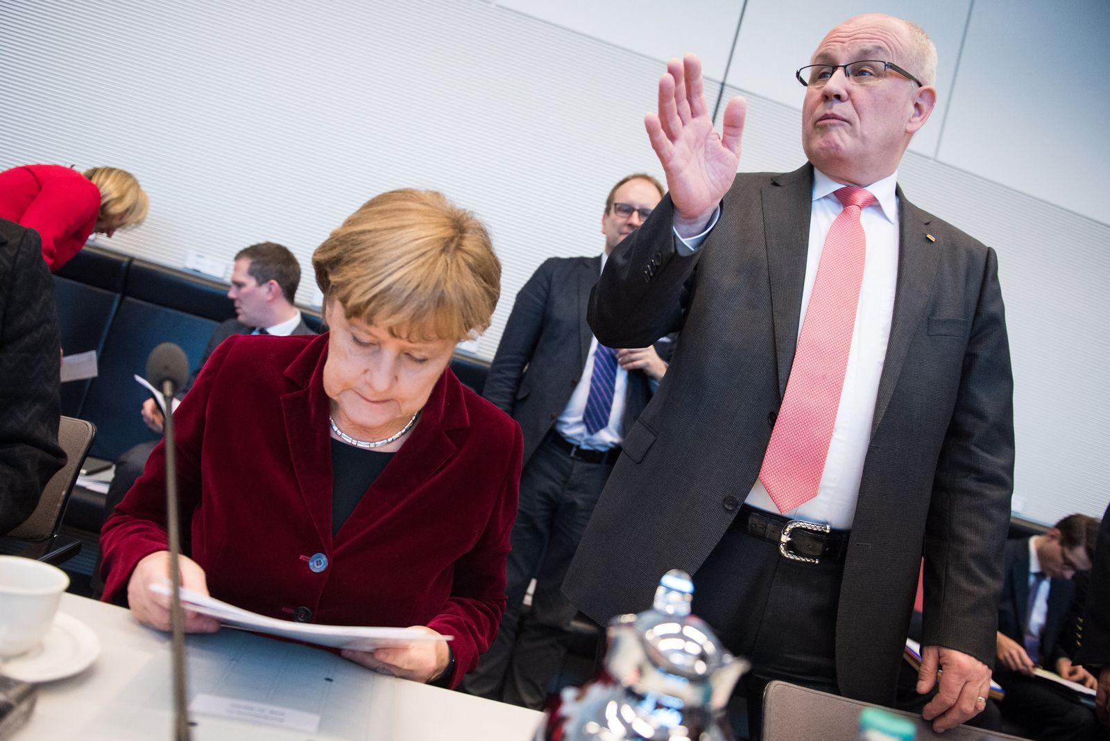 Merkel und Kauder
