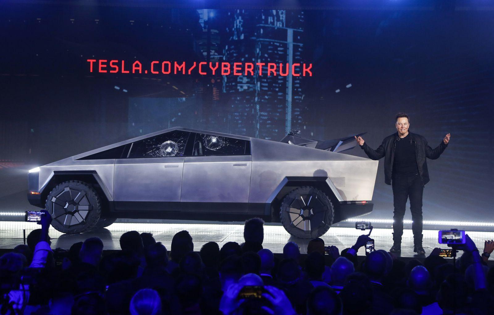 Tesla Pickup panne musk