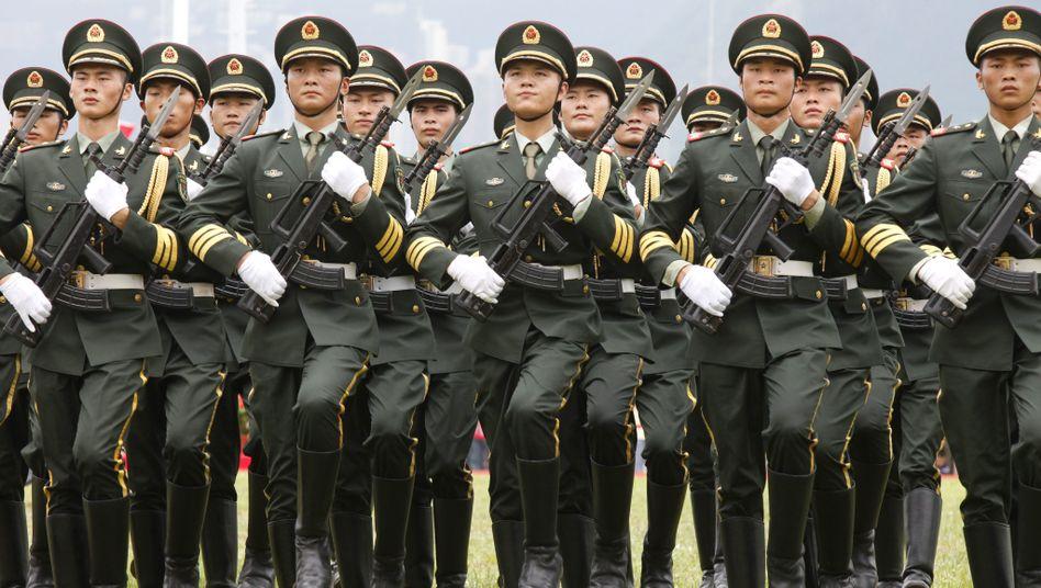 Soldaten der Volksbefreiungsarmee: Ego-Shooter zur Erziehung von Teenagern zur nationalen Verteidigung