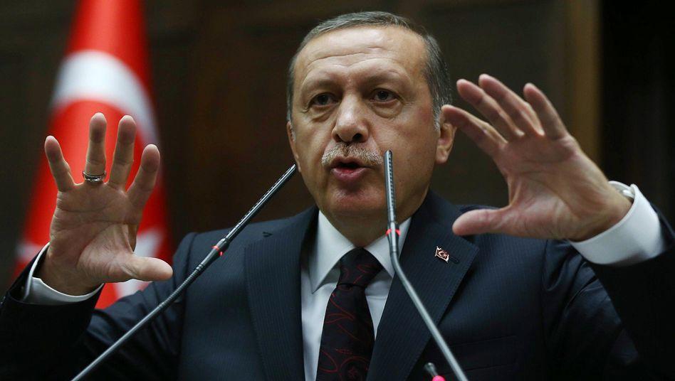 Türkischer Premier Erdogan: Seine Regierung will homosexuelle Häftlinge isolieren