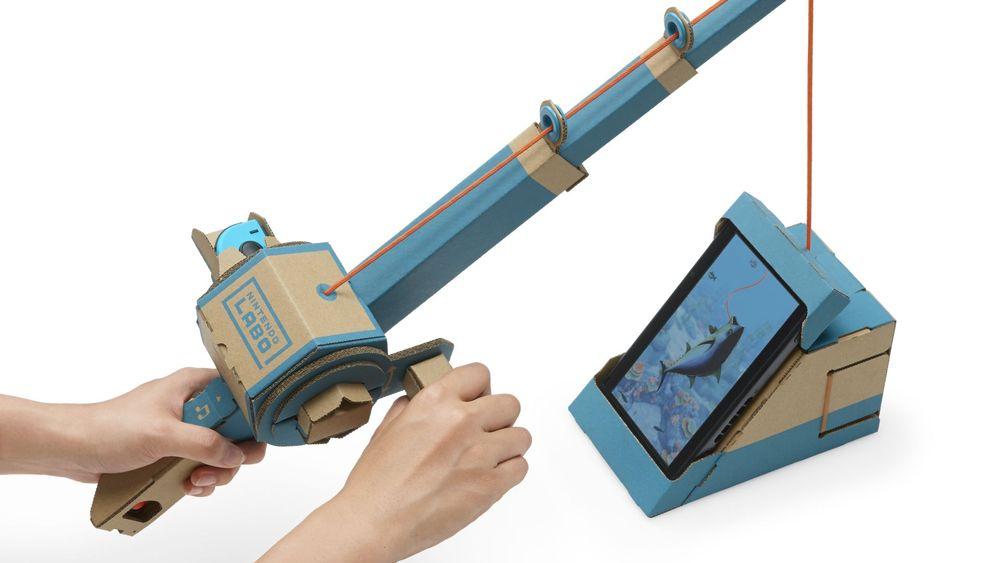 """Spielen mit Pappe: Das ist Nintendos """"Labo"""""""