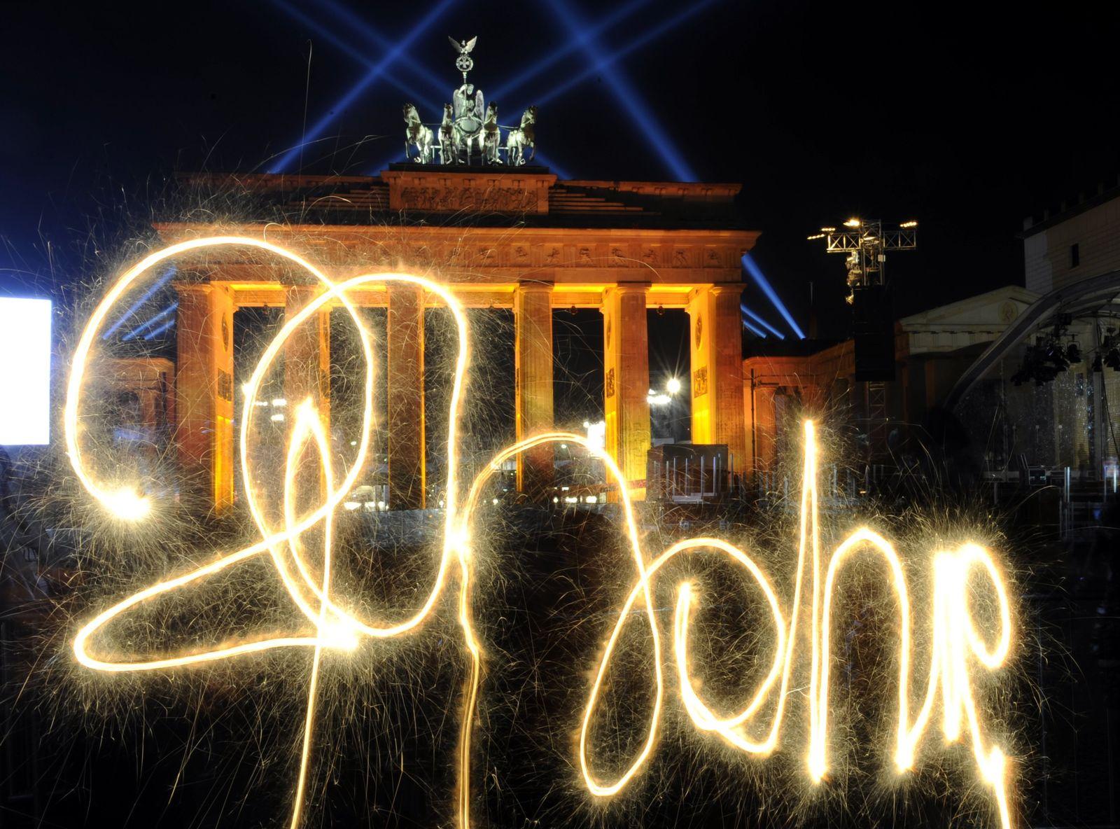 Berlin / Mauerfall / 20 Jahre