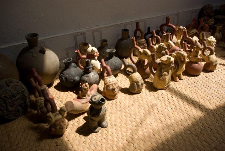 Moche-Artefakte: Dramatische Klimaveränderungen binnen weniger Generationen