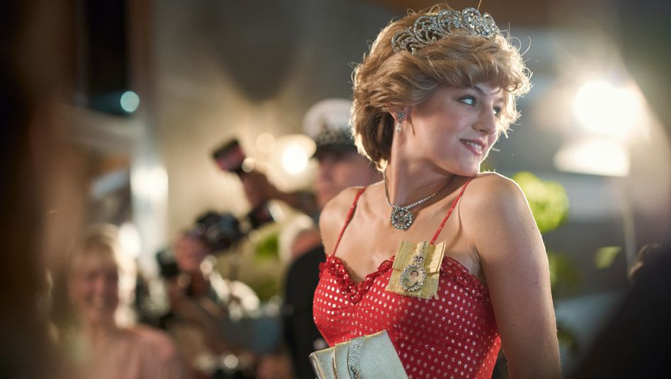 """Emma Corrin als Princess of Wales in """"The Crown"""""""