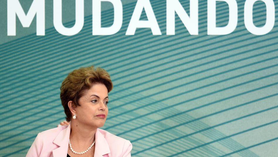 Brasiliens Staatschefin Rousseff: Niederlage vor Gericht