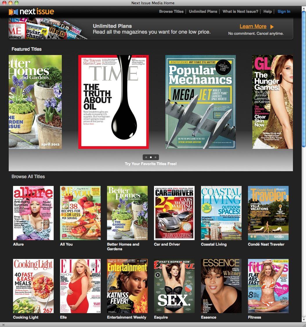 NUR ALS ZITAT Screenshot next issue