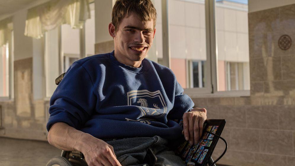 Behinderte in Russland: Sascha führt ein bisschen Krieg