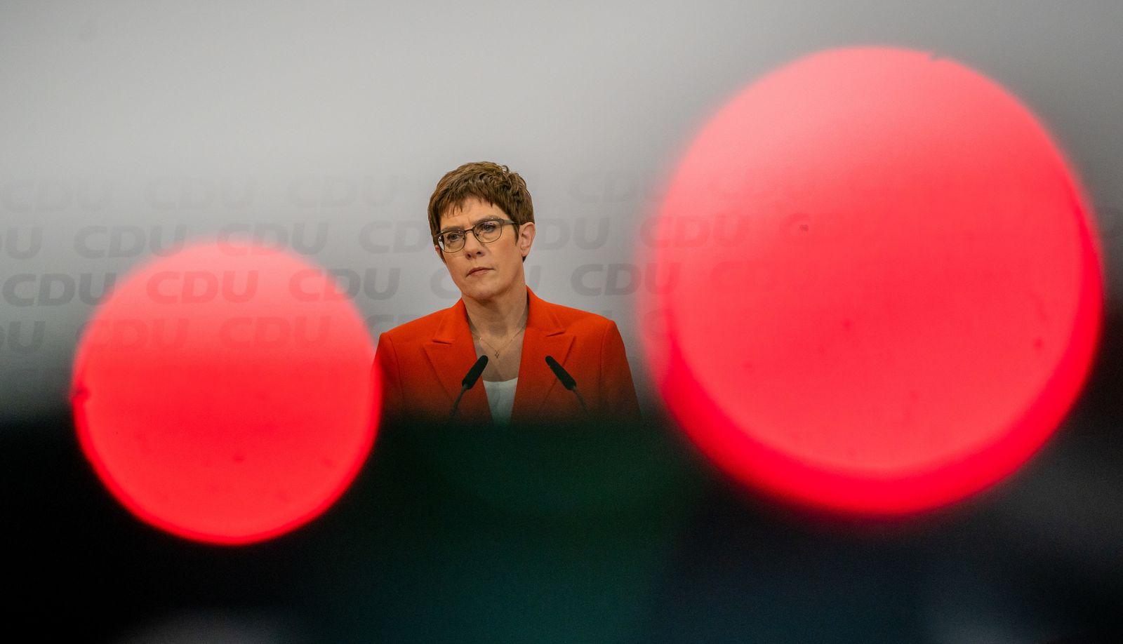 Nach Ministerpräsidentenwahl in Thüringen- CDU