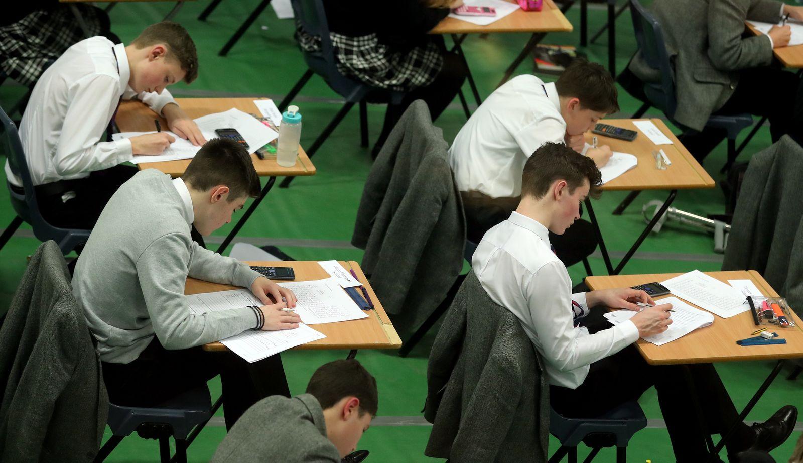 Testexamen für das britische GCSE