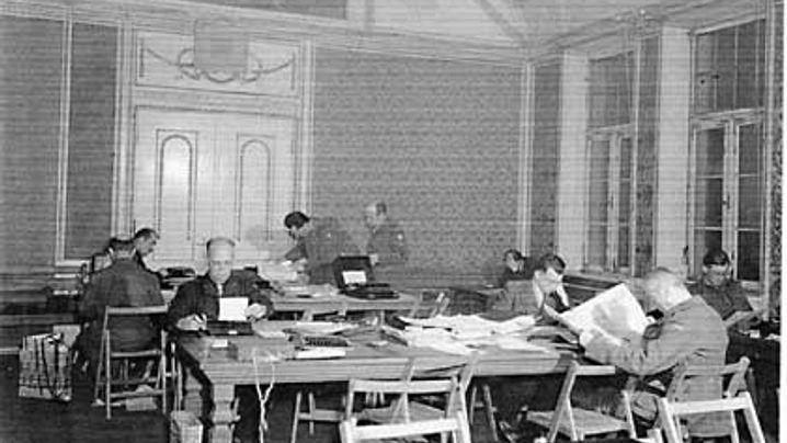 Nürnberger Prozesse: Journalistenherberge im Schloss Stein