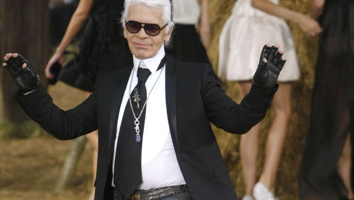 Photo Gallery: The Ecccentric Words of Karl Lagerfeld