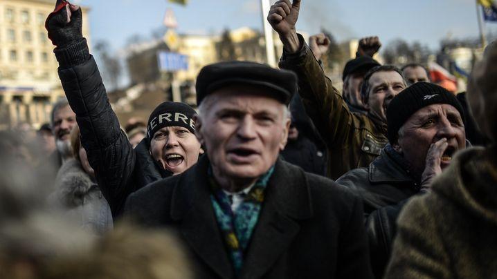 Krise in der Ukraine: Der Freitag der Hoffnung