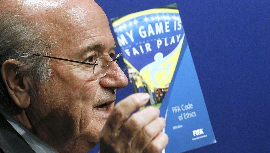 "Fifa-Präsident Blatter: ""Ich war nicht involviert"""