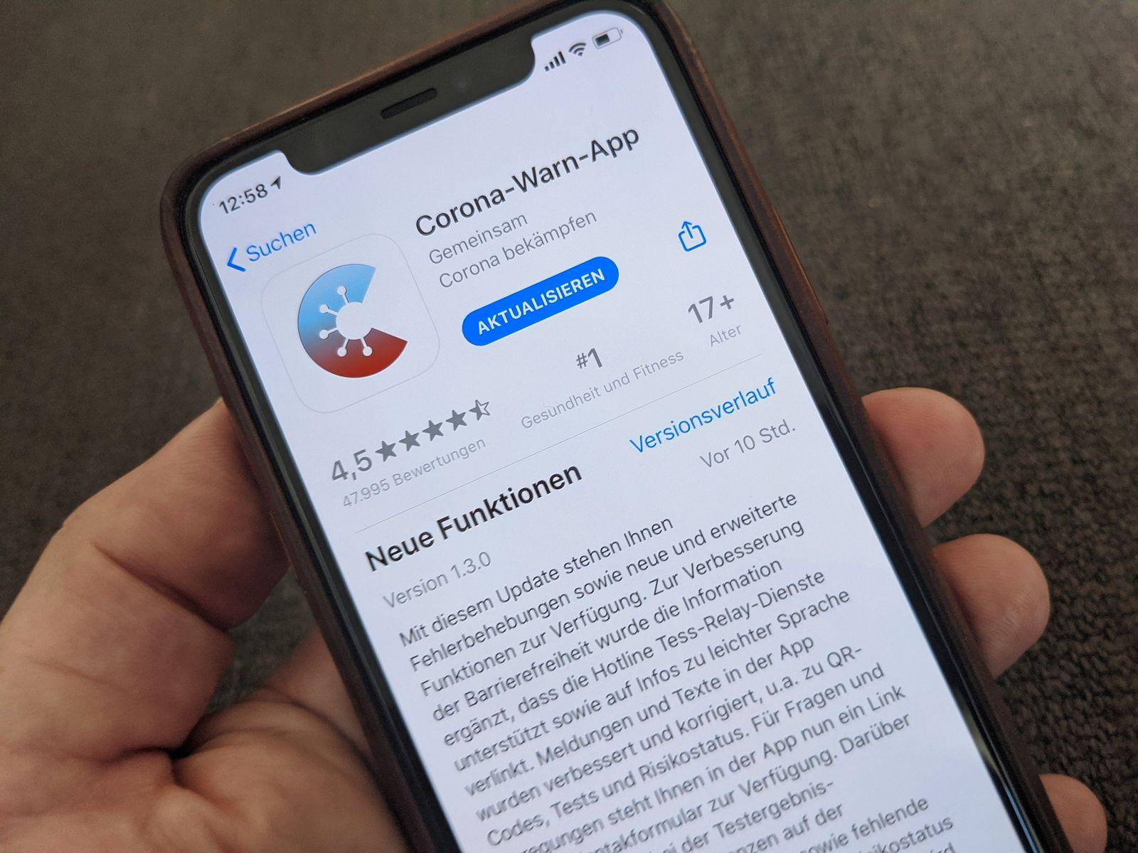 Neue Version der Corona-Warn-App