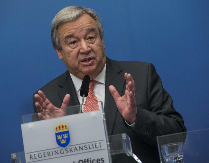 Uno-Kommissar António Guterres
