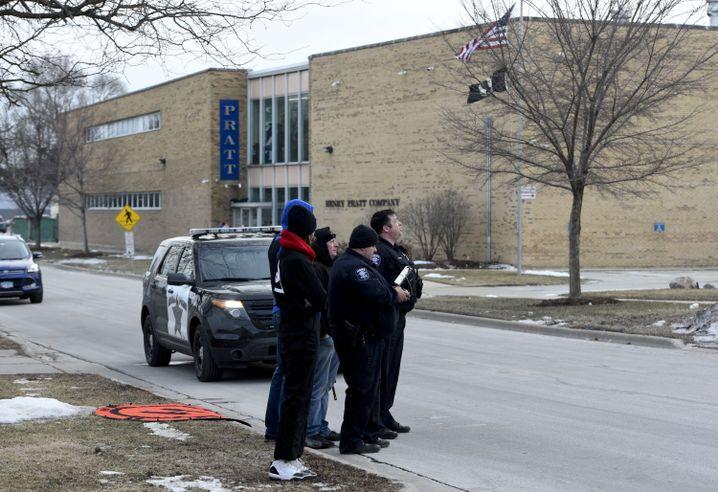Tatort in einem Vorort von Chicago: ein Werk für Wasserventile