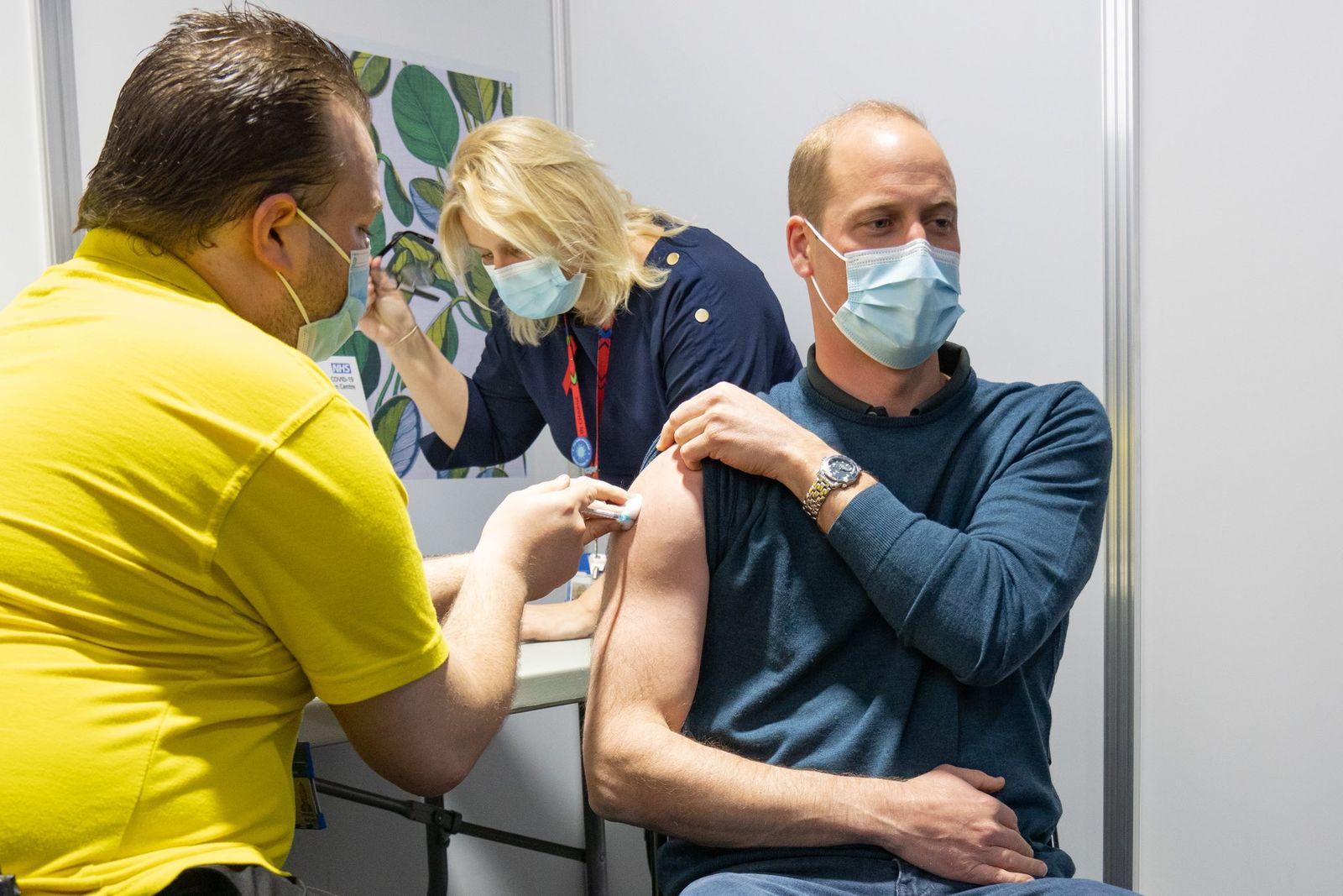 Prinz William bekommt erste Corona-Impfung