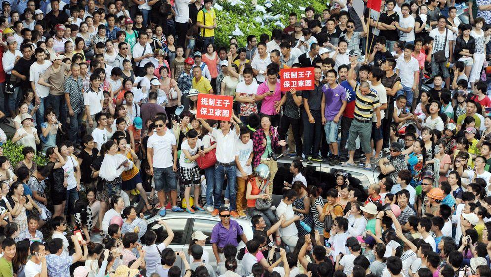 Fotostrecke: Anwohner stoppen Industrieprojekt in China