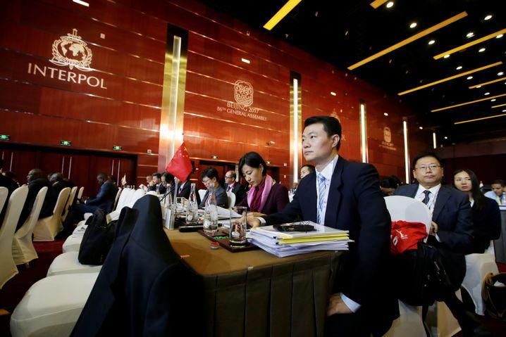 Interpol-Generalversammlung in Peking 2017
