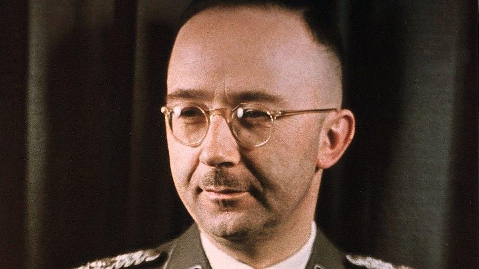 SS-Führer Himmler um 1943
