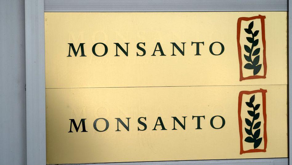Firmenschild von Monsanto: Relative Erfolglosigkeit