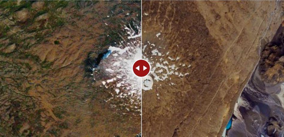 Geologisch betrachtet ist der Okjökull nun ein Vulkan mit Schneeschicht