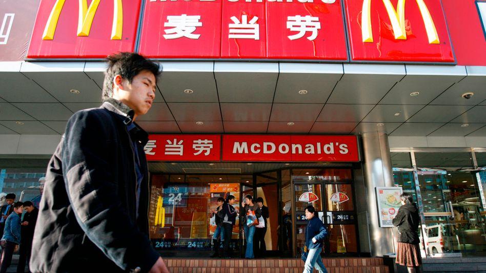 McDonald's-Filiale in Peking (Archivbild): Einer von vielen Lebensmittelskandalen