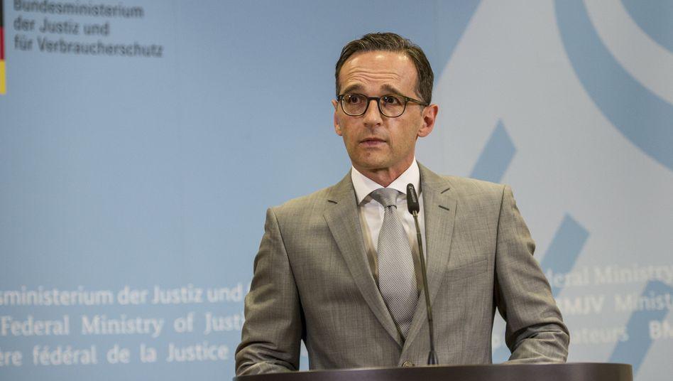 Bundesjustizminister Maas: Generalbundesanwalt Range entlassen