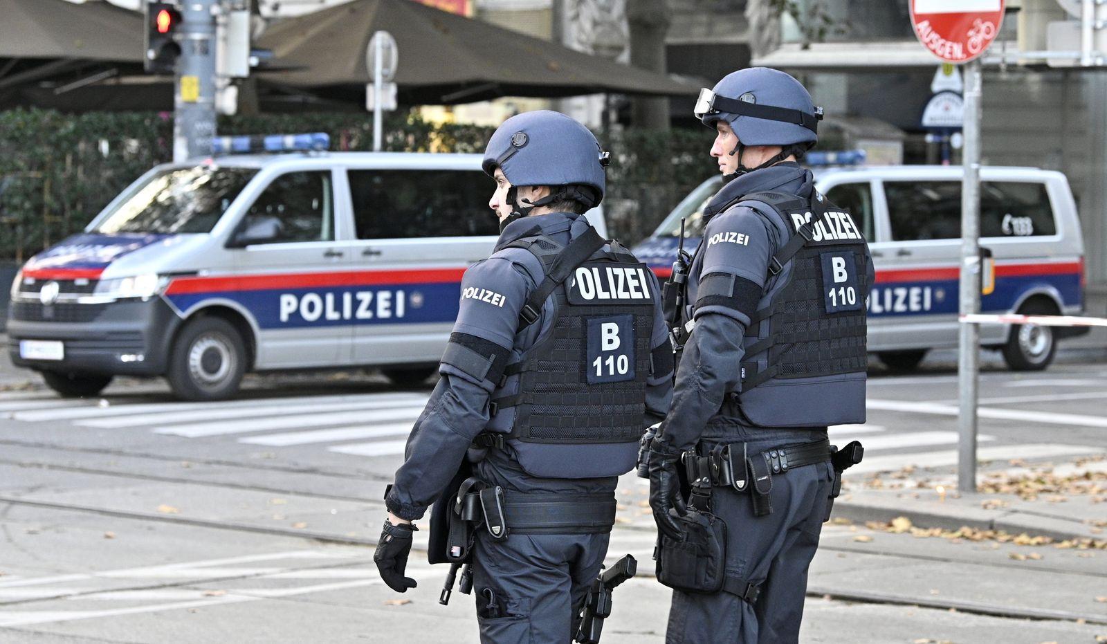 ANSCHLAG IN WIEN: POLIZEIBEAMTE